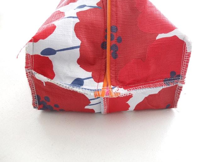 zippered wasah bag pattern how to make