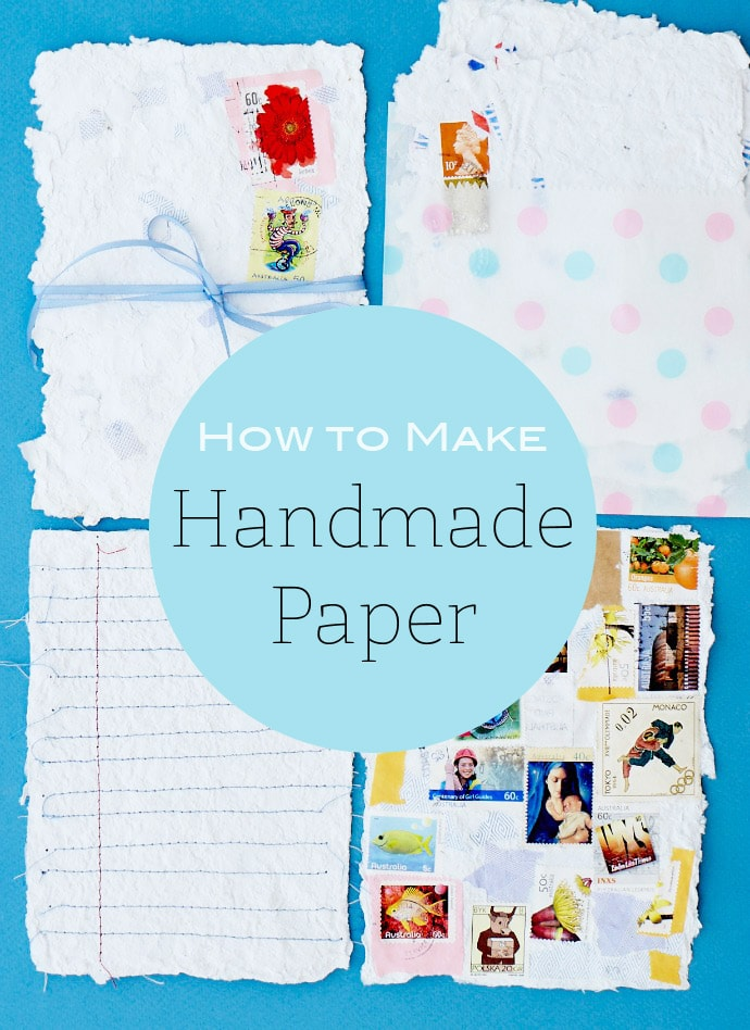 How to make your own handmade paper