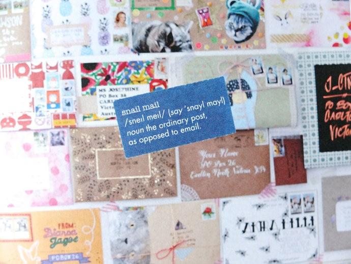 snail mail mail art