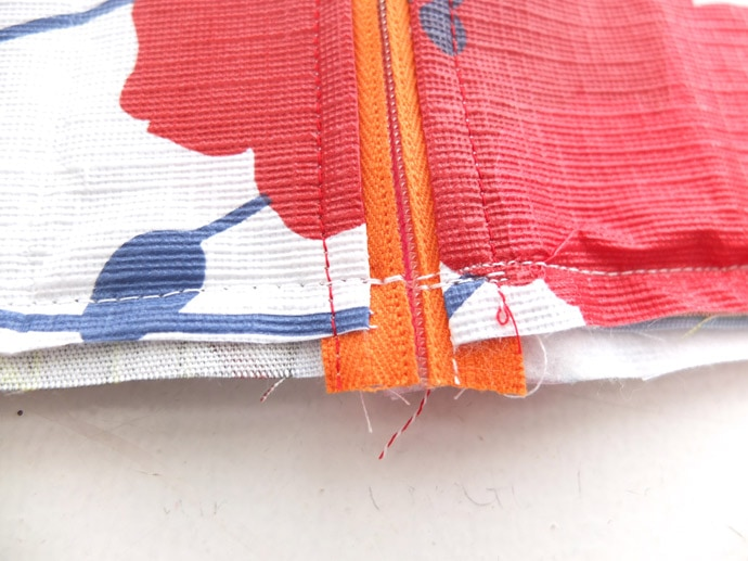 zippered pouch pattern