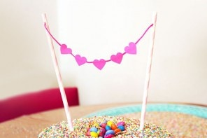 cake topper DIY instructions