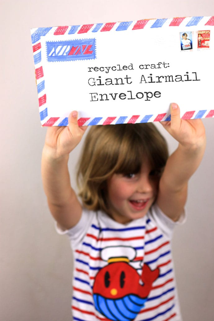 Make a Giant Airmail Envelope