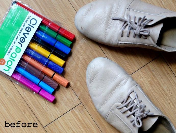 Shoe makover - before
