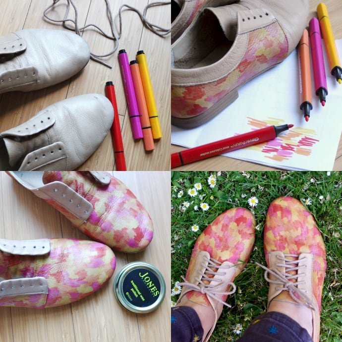 Shoe make over - how to
