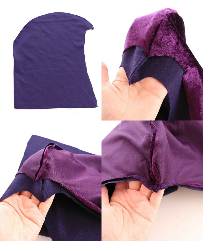 Diy raven teen titans cosplay my poppet makes how to make a cosplay cloak with hood solutioingenieria Image collections