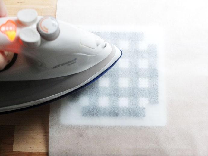 how to iron perler hama beads