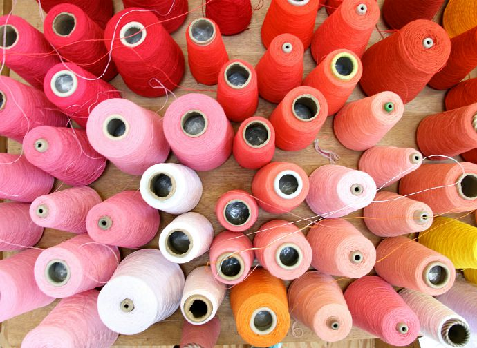 pink threads
