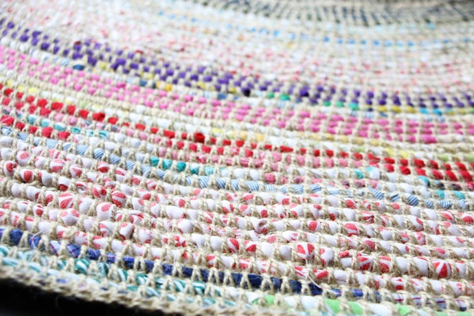 Coil Crochet Scrap Fabric Rug DIY My Poppet Makes Fascinating Crochet Rag Rug Patterns