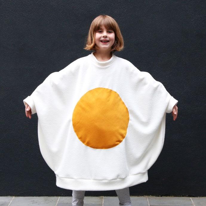 How to make an egg costume for Halloween  sc 1 st  My Poppet & Egg-cellent Fried Egg Costume | My Poppet Makes