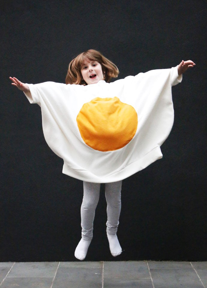 How to Make a Fried Egg Costume - Mypoppet.com.au