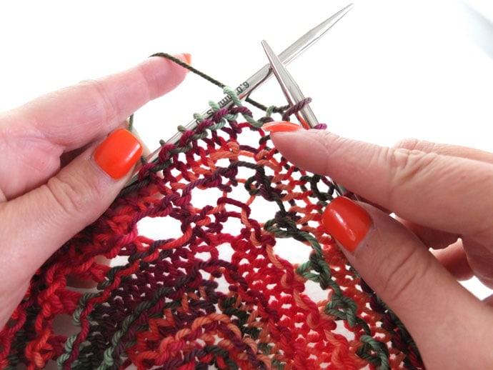 KYOK stitch Skeino Startup Shawl Pattern review www.mypoppet.com.au