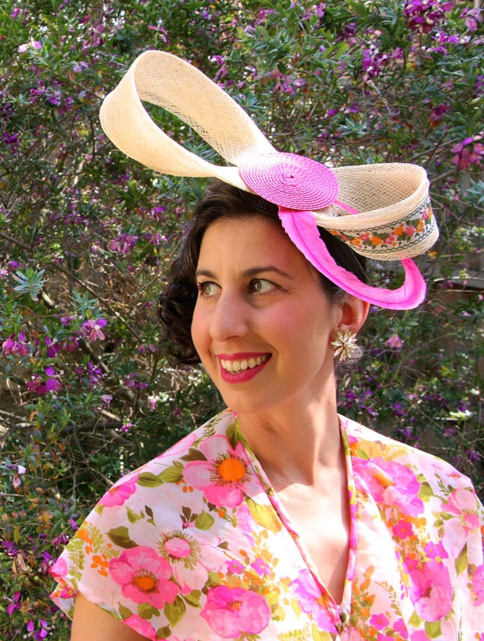 DIY - Spring Racing Carnival Headpiece
