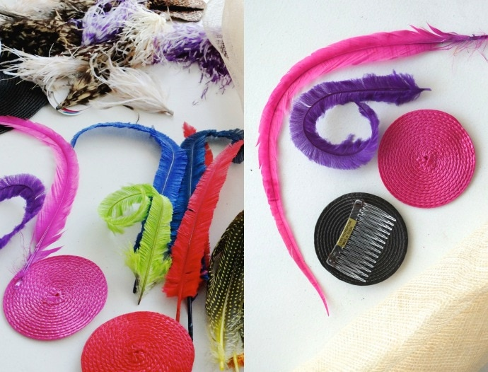 millinery supplies from Vinnies