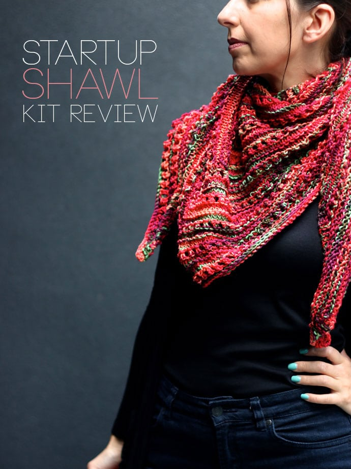 Skeino Startup shawl pattern review mypoppet.com.au
