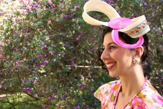DIY Spring Racing Carnival Facinator Headwear