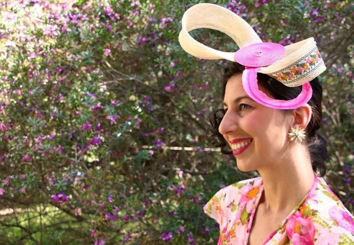 DIY Spring Racing Carnival Facinator Headwear