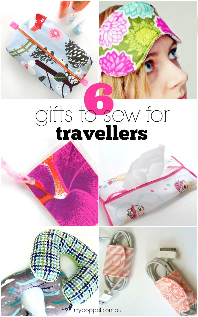 6 gifts to sew for travellers
