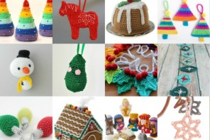 18 Crochet Ornaments to make this Christmas