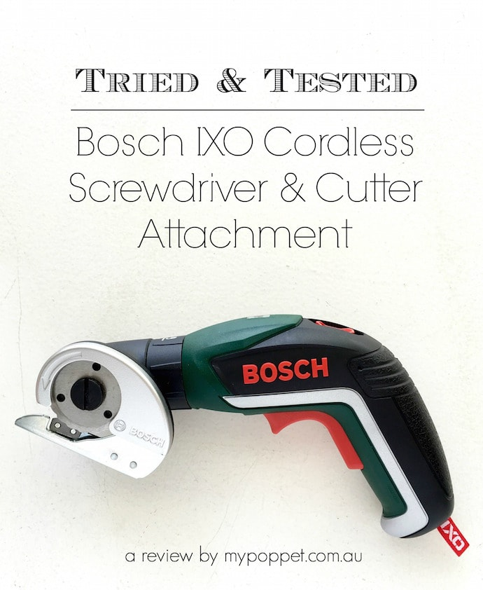 Tried & Tested - Bosch IXO Cordless Screwdriver & Cutter Attachment