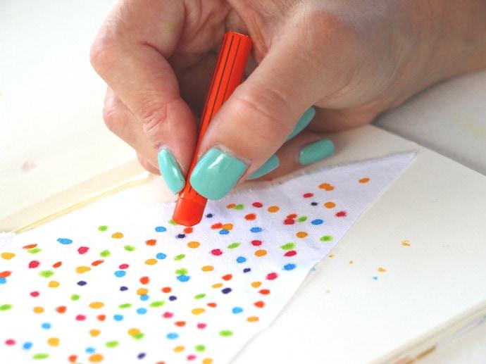 fabric pastels sprinkles