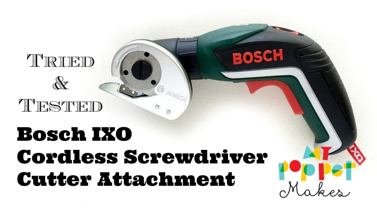 tried & tested – bosch ixo cordless screwdriver cutter attachment
