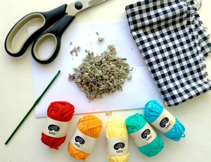 how to make a lavender drawer sachet