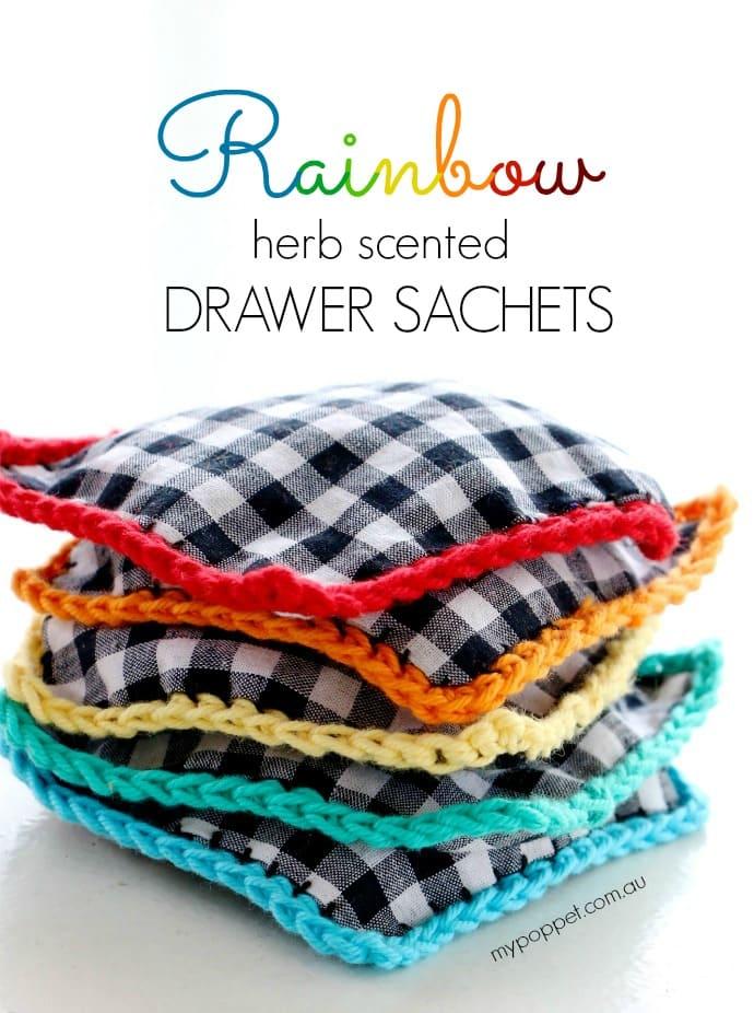 how to make a lavender drawer sachet mypoppet.com.au