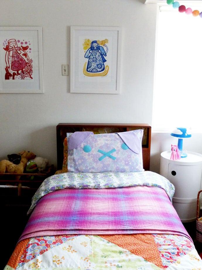 DIY Bunny Pillow mypoppet.com.au