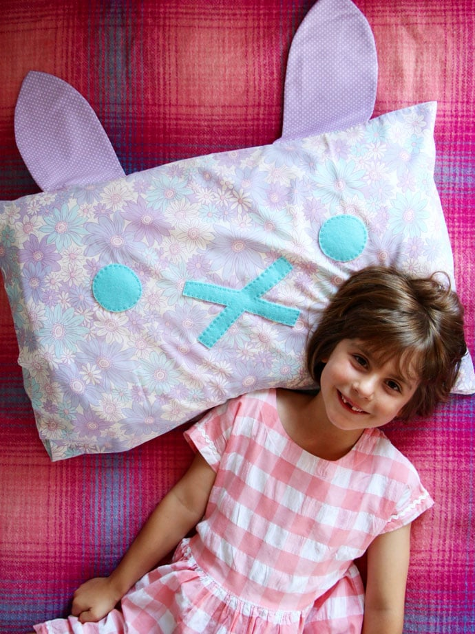 DIY Bunny Pillow mypoppet.com.au