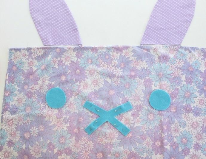 bunny pillow pin