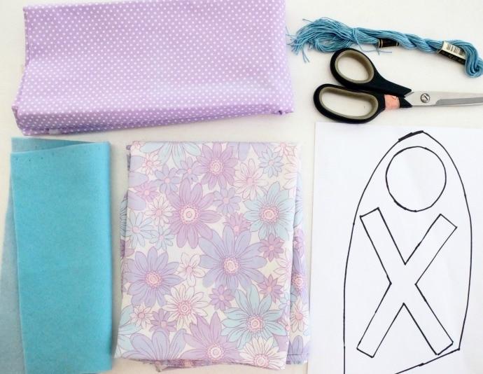 bunny pillowcase for easter supplies