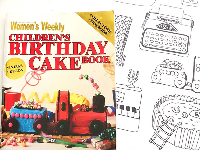Women's Weekly Childrens Birthday Cake book