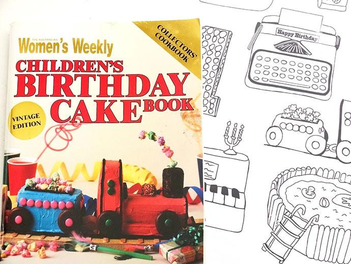 Women's Weekly Childrens Birthday Cake book