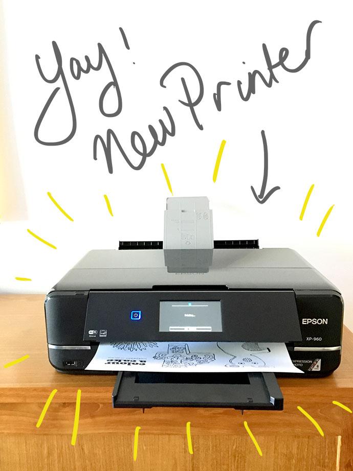 new printer epson