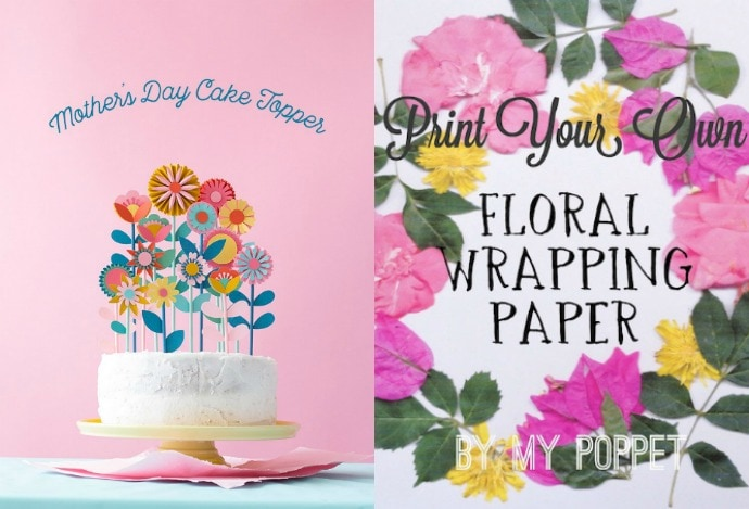 Mother's Day floral crafts to make