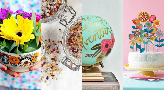 8 gorgeous floral gifts to make this mothers day my poppet makes 8 gorgeous floral gifts to make this mothers day negle Images