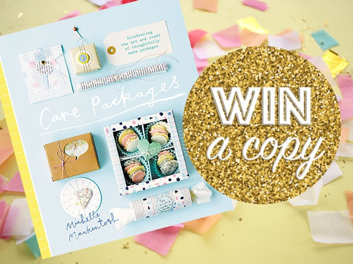 Win A copy of Care Packages Craft Book - Australia only