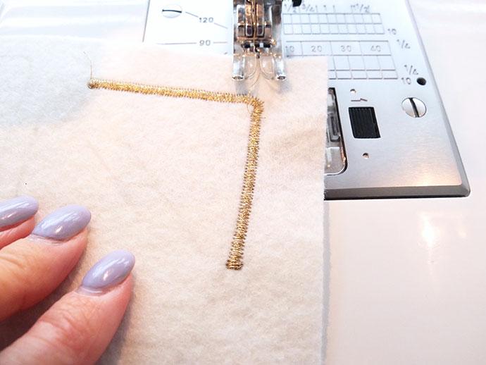 Fairy Bread sew on patch tutorial mypoppet.com.au