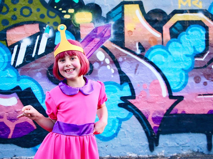 How to make Princess Bubblegum crown - Cosplay Costume mypoppet.com.au