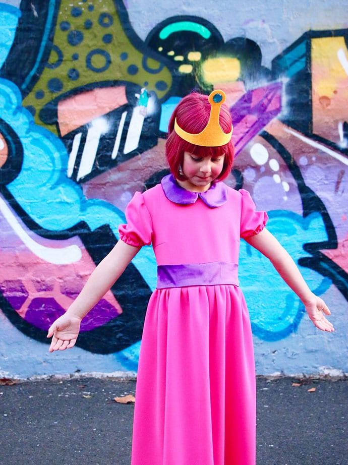 Princess Bubblegum cosplay costume
