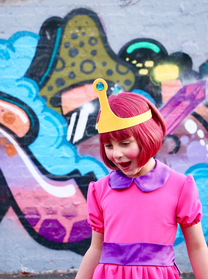 Princess Bubblegum cosplay mypoppet.com.au