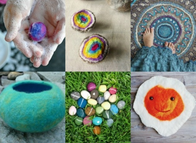6 wet felting tutorials to try - mypoppet.com.au