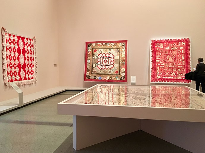 Making the Australian Quilt at the NGV