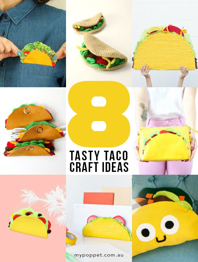 8 fun to make Taco DIY craft ideas mypoppet.com.au
