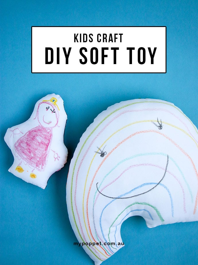 Kids Craft: DIY SOFTIE TOY