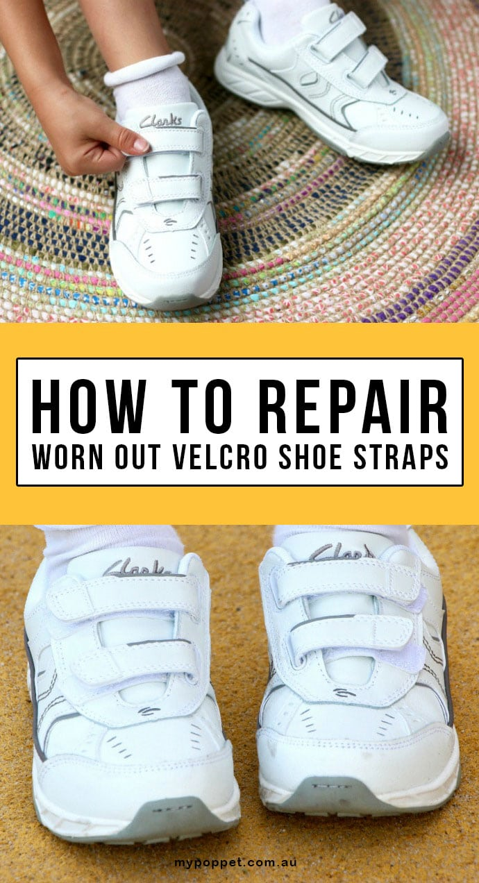 to Repair Worn Out Velcro Shoe Straps