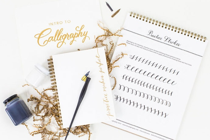 calligraphy kit gift guide