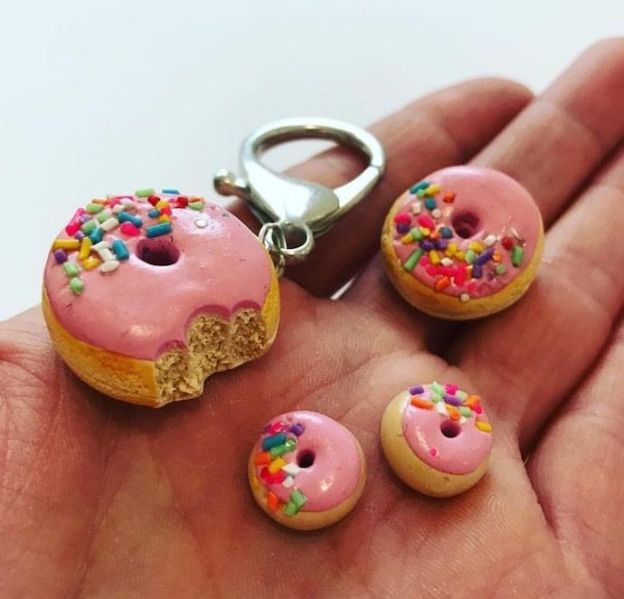 doughnut keyring