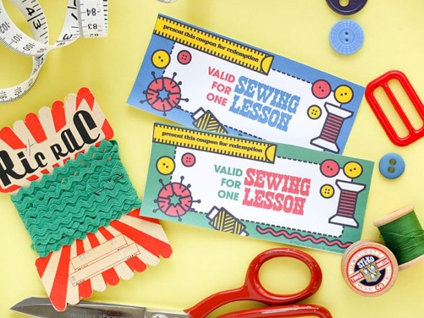 printable gift certificates - craft lessons -mypoppet.com.au