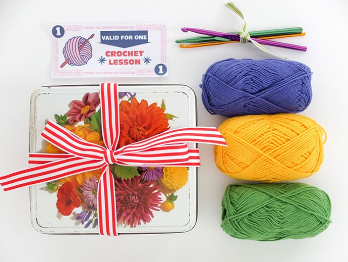 DIY crochet craft kit mypoppet.com.au